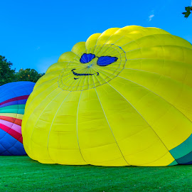 Smile by Michael Wolfe - News & Events Entertainment ( artistic objects, balloons, hot air balloons, sunglasses, smiling,  )