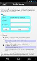 Screenshot of HTML5 Tutor