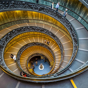 circle stair by Arif Djohan - Buildings & Architecture Public & Historical (  )