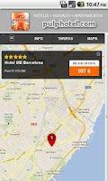 Screenshot of Best hotel & hostel finder