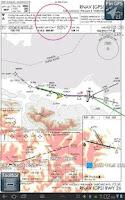 Screenshot of Anywhere Map--Aviation GPS