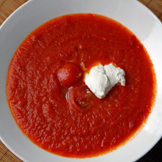 Chile-Tomato Soup with Cumin and Cinnamon