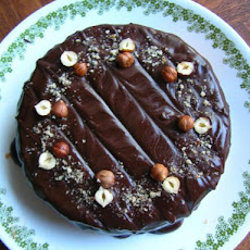 Norwegian Hazelnut Cake