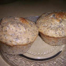 Low-Fat Lemon Poppy Seed Muffins