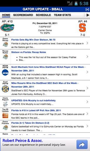Florida Football Basketball