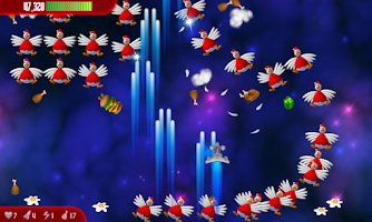 Screenshot of Chicken Invaders 3 Xmas HD