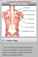 Screenshot of Muscle Building Back+Shoulders