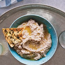 Roasted-Eggplant Dip with Greek Yogurt
