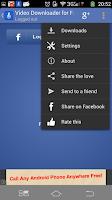 Screenshot of Video Downloader for Facebook™