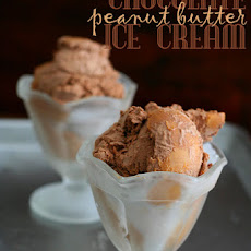 Chocolate Peanut Butter Ice Cream – Recipe Remake