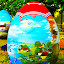 Croatian Easter Egg  by Luna Sol - Public Holidays Easter ( croatian naiv art, easter, art, croatia, celebration, egg, colours,  )