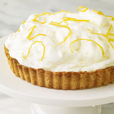 Lemon Mousse Damask Tart
