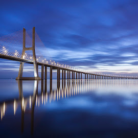 In Blue by Emanuel Ribeiro - Landscapes Sunsets & Sunrises