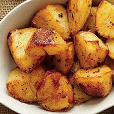 Golden Butter-Crisped Spuds