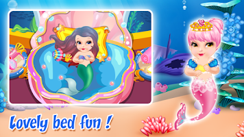 Screenshot of Baby Mermaid Care