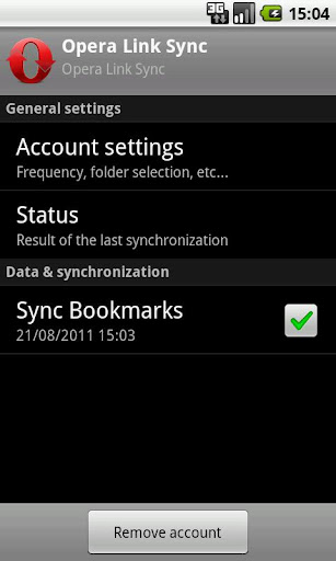 Sync for Opera Link