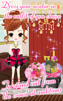 Screenshot of Celebrity Darling for GREE
