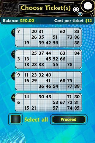 Pocket Bingo Pro - screenshot