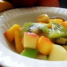 Froutosalata or Mixed Fruit With Orange Juice & Honey (Greec