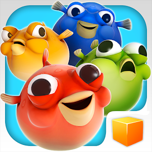 Game bubble fish party apk for windows phone android for Bubble fish game