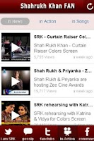 Screenshot of Shahrukh Khan FAN