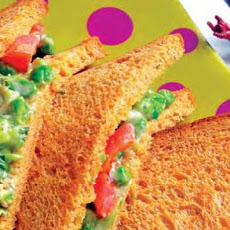 Green Peas Sandwiches