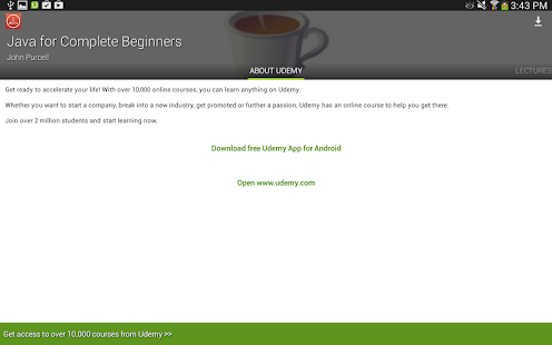 java tutorials online Udemy is an online learning and teaching marketplace with over 65,000 courses and 15 million students learn programming, marketing, data science and more.