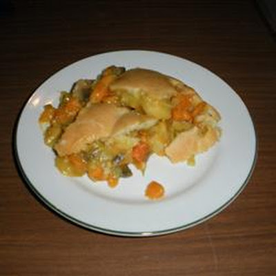 Creamy Vegetable Pie