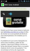 Screenshot of Curso de programación Android