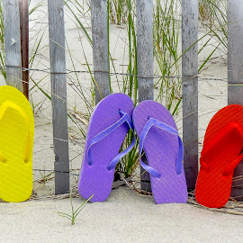 Time for Flip Flops by Diane Ljungquist - Artistic Objects Clothing & Accessories (  )