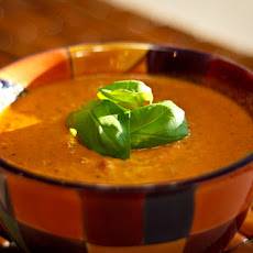 Tomato and Basil Soup With Jameson Irish Whiskey