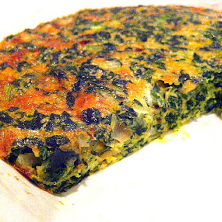 Crustless Spinach Pie