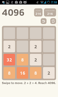 4096 Puzzle - screenshot