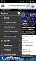 Screenshot of Naples Daily News