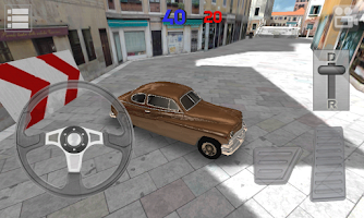 Screenshot of Classic Car Parking HQ