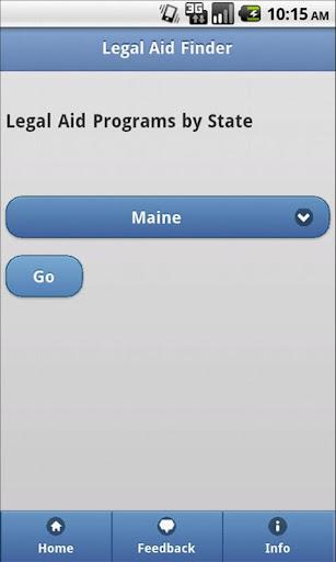 Legal Aid Finder