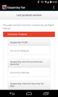 Screenshot of Kaspersky Fan