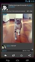 Screenshot of Falcon Widget (for Twitter)