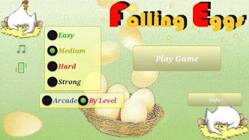 Screenshot of Falling Eggs