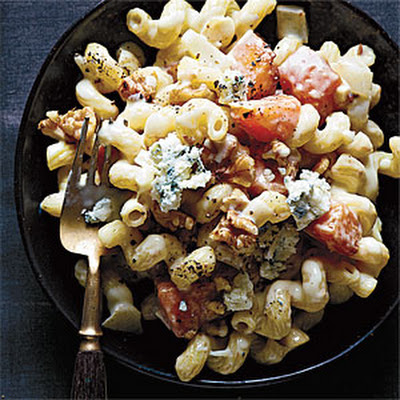 Creamy Butternut, Blue Cheese, and Walnut Cavatappi