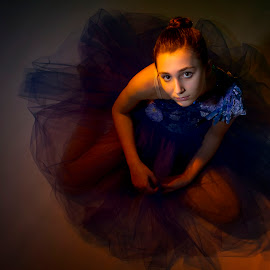 Ballerina by Debra Crouch - Babies & Children Child Portraits