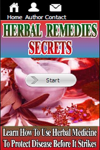 Herbal Remedies Secrets