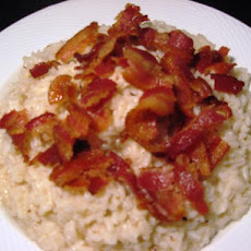 Southern Rice With Bacon Flavored Gravy