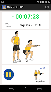 10 HIIT Workout Calisthenics - screenshot