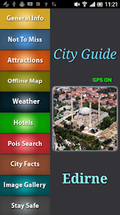Edirne Offline Travel Guide - screenshot