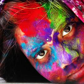 by Sanniti Chatterjee - People Portraits of Women (  )