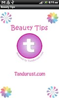 Screenshot of Beauty Tips from Tandurust.com
