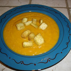 Cream of Sweet Potato Soup (Crema Di Papata Dolci E Gabretti)