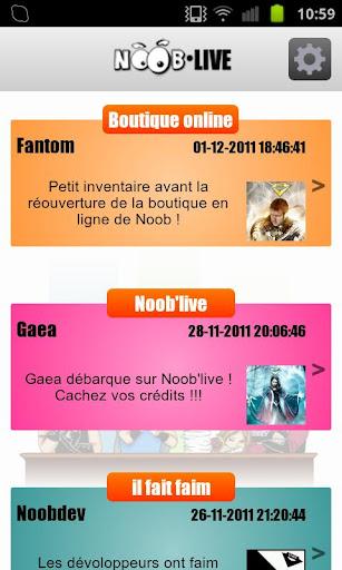Noob'live