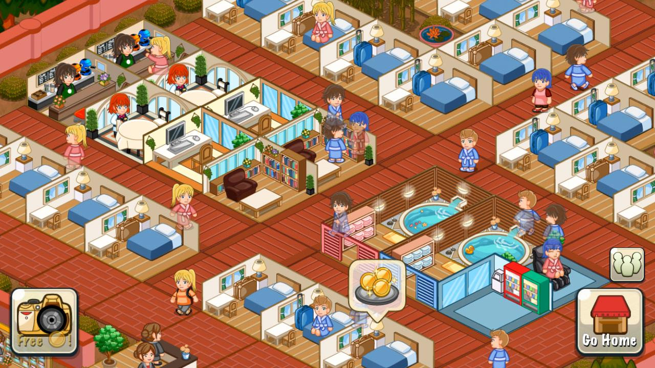 Hotel Story: Resort Simulation Screenshot 0